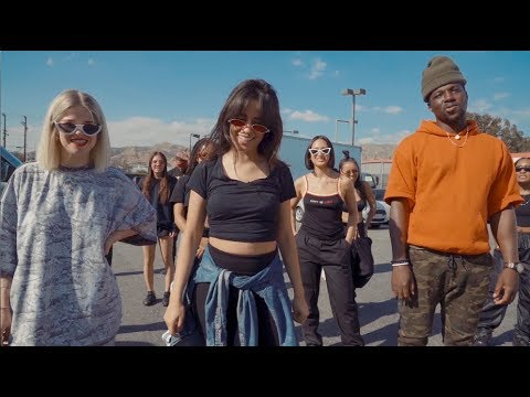 Camila Cabello Amp Pharrell Sangria Wine Dance Challenge