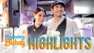 Magandang Buhay Bea Alonzo recalls Gerald Anderson 39 s surprise on her graduation dinner
