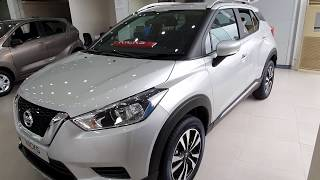 Nissan KICKS XV Premium Model Silver - FULL Detailed WALKAROUND Review | Exterior, Interiors | Kicks