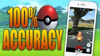 How to throw 100% Accurate Pokeballs in Pokemon GO! (Never Miss)