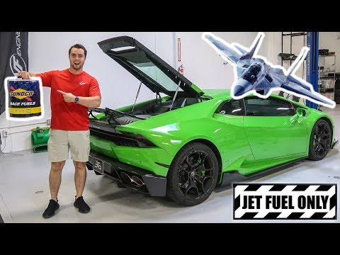 PUTTING JET FUEL IN MY LAMBORGHINI