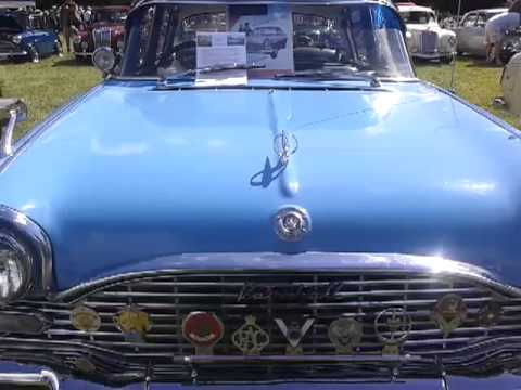 Vauxhall cresta at raby castle car show