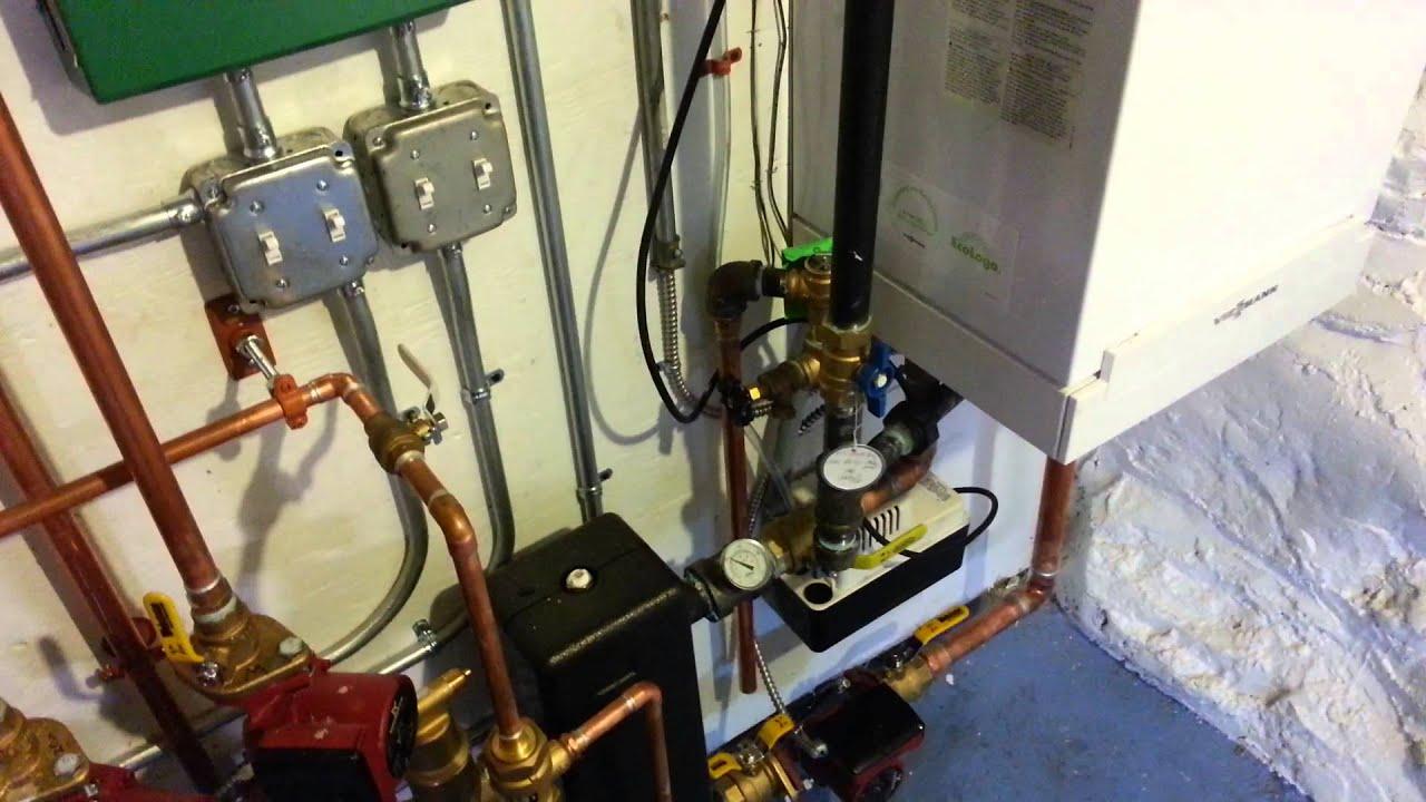 Viessmann Vitodens 100 Boiler Installation
