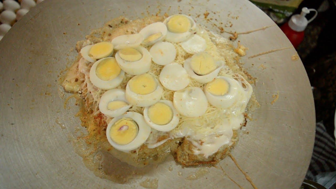 BIGGEST EGG SANDWICH | EGGelicious Egg Monaco | Indian Street Food