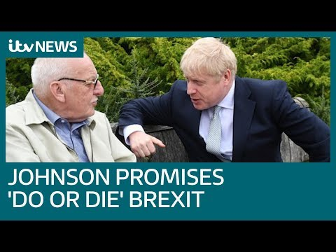 Boris Johnson dodges photo questions but promises 'do or die' Brexit | ITV News