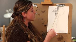 Brianna Lee Figure Drawing Demo - Light and Shadow
