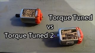 Repeat youtube video 【ミニ四駆】Tamiya Mini 4WD Testing: Torque Tuned vs Torque Tuned 2