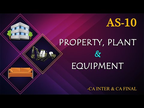 AS10 - Property, Plant and Equipment