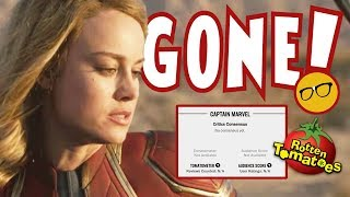 Captain Marvel Rotten Tomatoes Silenced! Is The Audience Score Next?