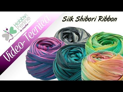 how to make shibori ribbon