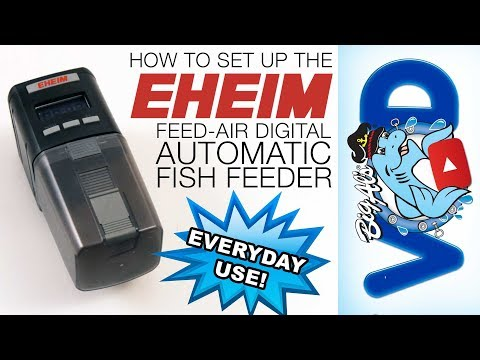 How To Set Up The Eheim Feed-Air Digital Automatic Feeder | BigAlsPets.com