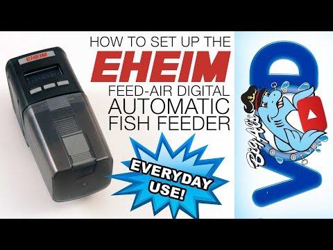 How To Set Up The Eheim Feed-Air Digital Automatic Feeder | BigAlsPets.com