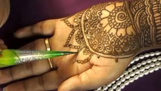 henna design on hands : Tutorials : Design