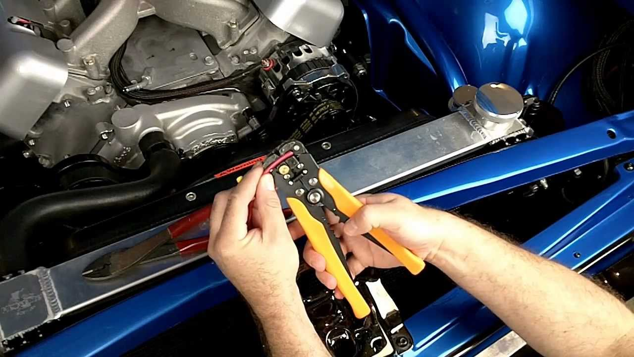 Golf Cart Battery Wiring Diagram How To Install And Wire A Flex A Lite Electric Fan