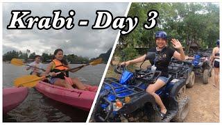 Krabi Vlog - ATV Bikes Adventure and Kayaking