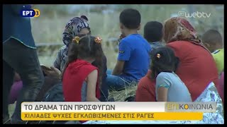 Χιλιάδες πρόσφυγες εγκλωβισμένοι στην Ειδομένη