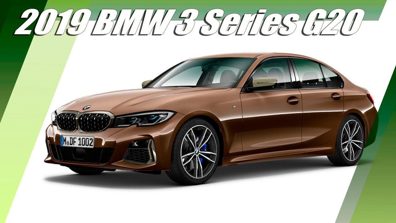 2019 Bmw 3 Series G20 Exterior And Interior Design Revealed