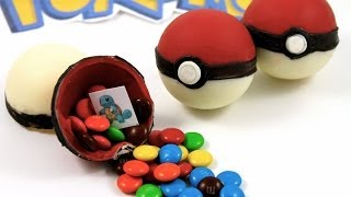 ¡Pokebolas de Caramelo! Haz Pokebolas de Pokémon Comestibles - MiAdiccionaCupcakes