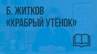 Б. Житков «Храбрый утёнок». Видеоурок по чтению 2 класс