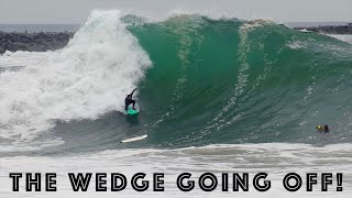 The Wedge GOING OFF! (RAW FOOTAGE) - May 15th, 2019