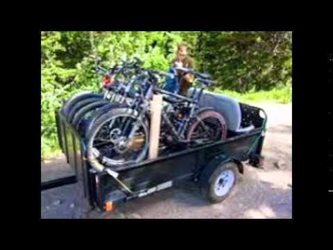 Bike Rack For Trailer Youtube