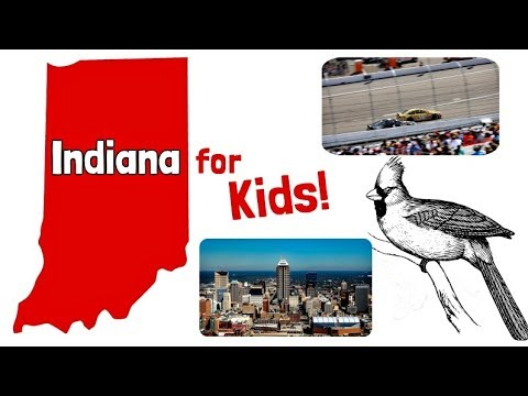Indiana for Kids | US States Learning Video