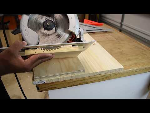 Dado With A Circular Saw | One Minute Challenge (new series)