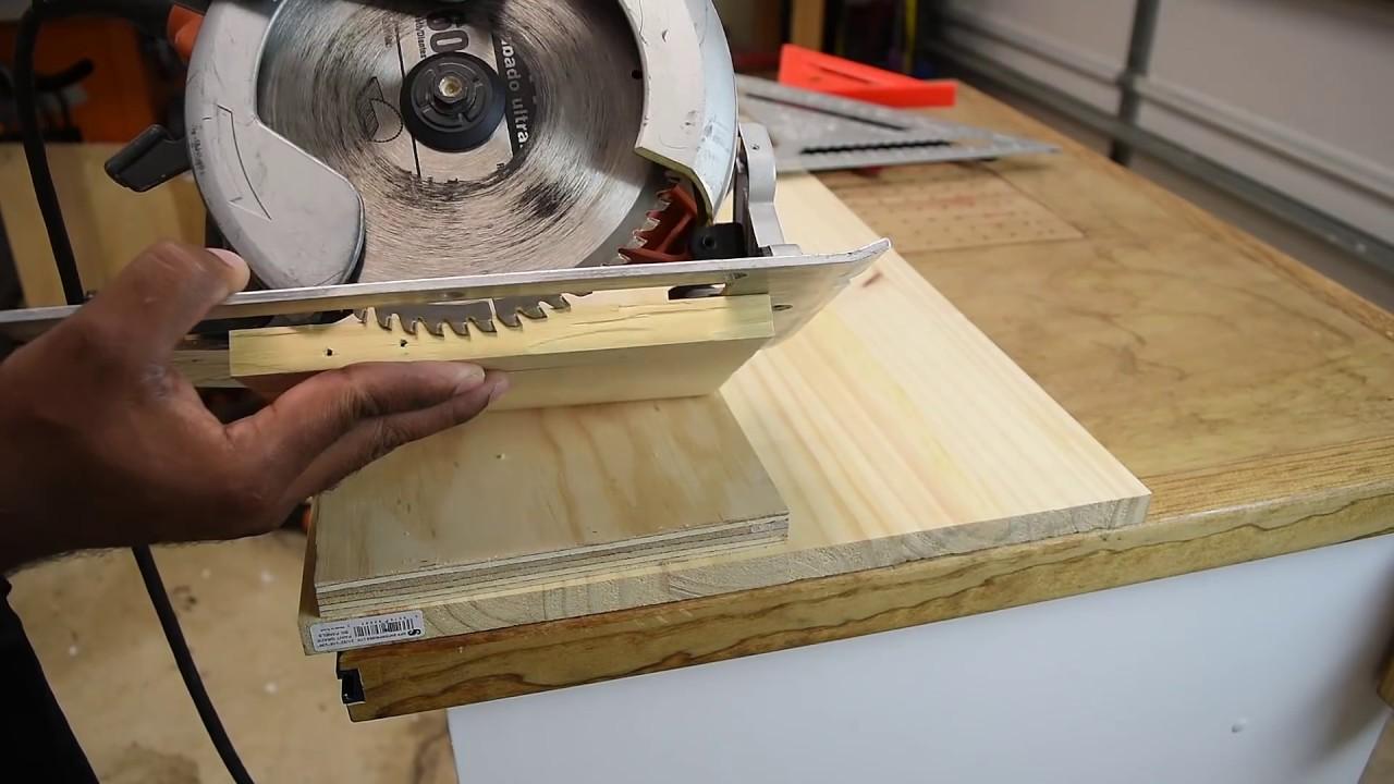 Making dados with a circular saw youtube making dados with a circular saw keyboard keysfo Gallery