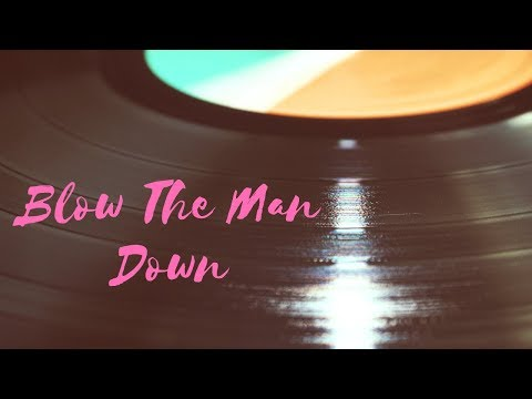 Blow The Man Down! (Piano cover by Johanna)