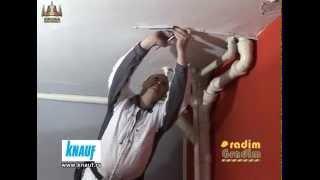 Knauf,pokrivanje cevi u kupatilu - Radim Gradim - (Produkcija Kruna )