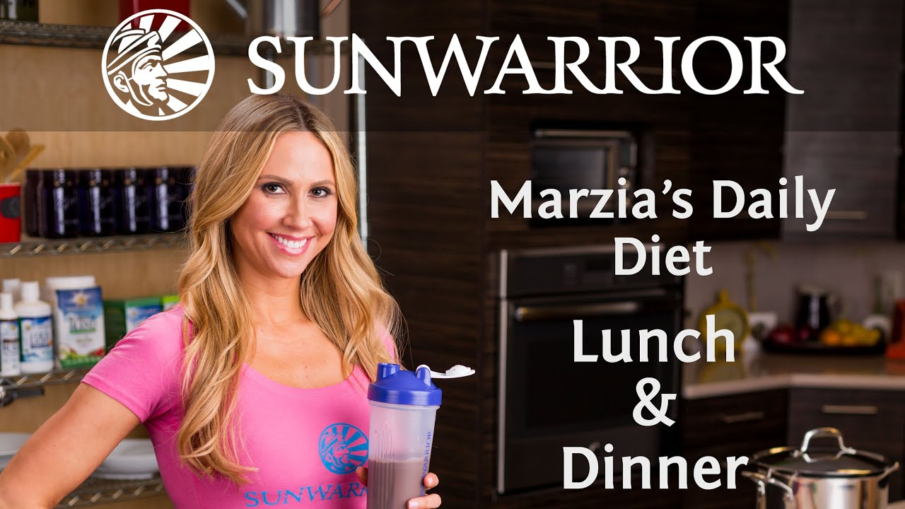 Marzia Prince's Daily Diet: Lunch & Dinner | Part 2/4 ...