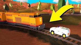 CAN THE JAILBREAK SUV STOP THE TRAIN?! (Roblox Jailbreak)