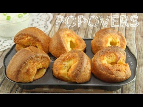 Popovers I knusprig luftiges Gebäck aus 5 Zutaten