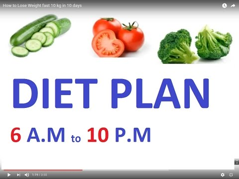 how to lose weight fast 10 kg in 10 days  youtube