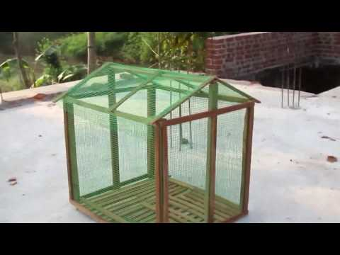 How to make a bird cage || Very easily at home