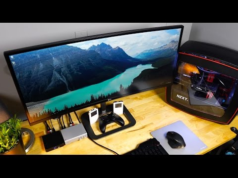 This $209 DIY Real Wood IKEA Desk is BEAUTIFUL!