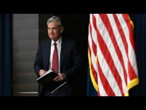 Fed's Jerome Powell says financial conditions have tightened and have become less supportive of...