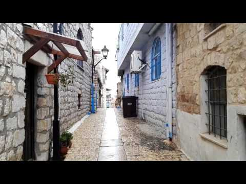 Safed (Tsfat) The Kabbalah City (Jewish Mysticism), Israel - A Visit To The Ancient Alleys
