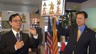 GSV Andrew Đỗ giới thiệu dự án tượng đài Đức Thánh Trần Hưng Đạo