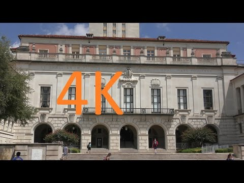 A 4K Video Tour of the University of Texas at Austin