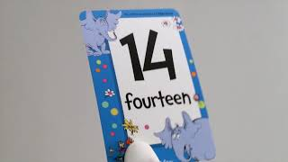 Learn to count 1-20 with Dr. Seuss Flash Cards!