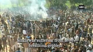 Last rites of BJP MLA Hukum Singh performed in Kairana
