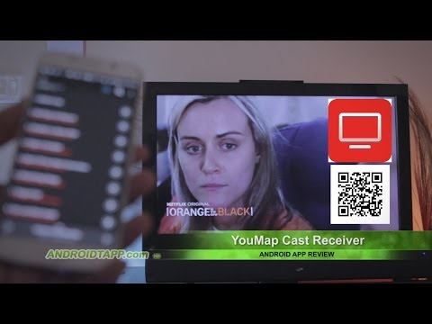 YouMap Cast Receiver (Android App Review)