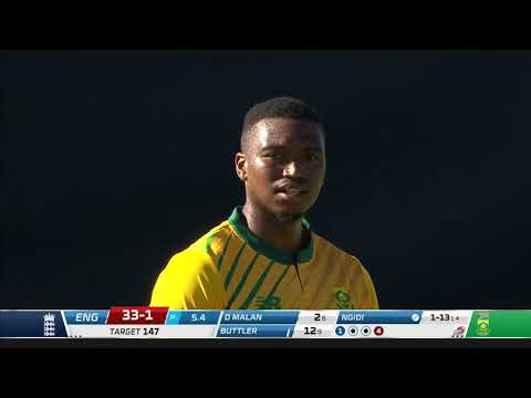 South Africa v England | 2nd T20 | Highlights