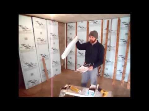 How To Insulate Interior Basement Walls With Durofoam I Doovi