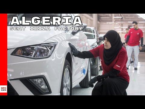 Seat Ibiza number 15,000 At Algeria Factory