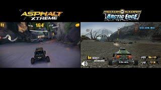 Asphalt Xtreme vs MotorStorm Arctic Edge