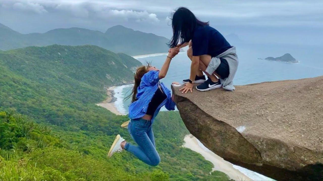 브라질 리우여행 2박3일 ✈️진짜 부산 같아요! (해변에서 폰 도난당했어요..)