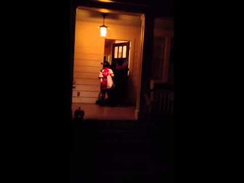 I continue my embedded coverage of NW DC Trick or Treating.