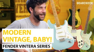 New Fender Vintera Series Guitars | Gear Check | Thomann
